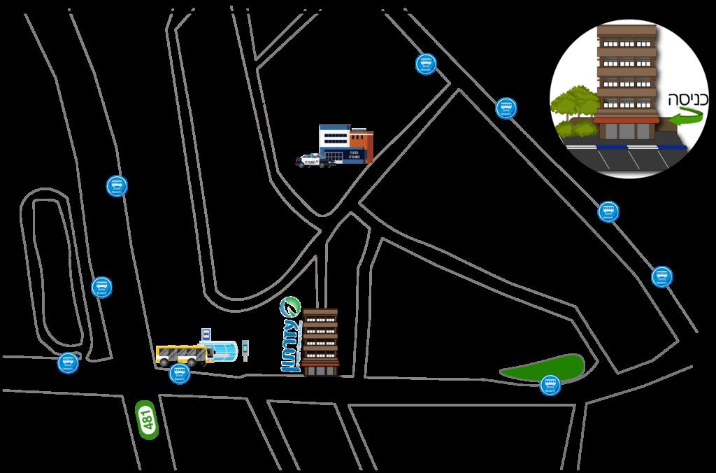 מפה של הקליניקה